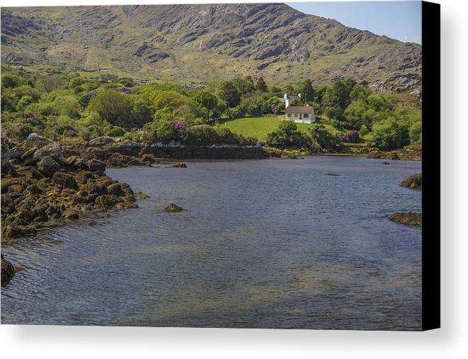 Ireland Canvas Print featuring the photograph No Road Home by Julie Black