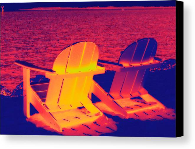 Beach Canvas Print featuring the photograph The Beach by Scott Mullin