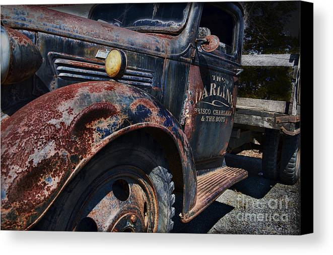 Truck Canvas Print featuring the photograph The Darlins Truck by David Arment