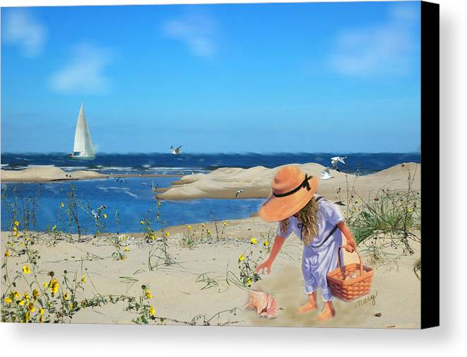 Indiana Dunes Canvas Print featuring the photograph The Dunes by Mary Timman
