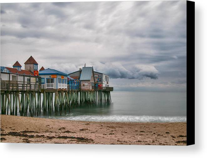 Guy Whiteley Photography Canvas Print featuring the photograph The End Of The Season by Guy Whiteley