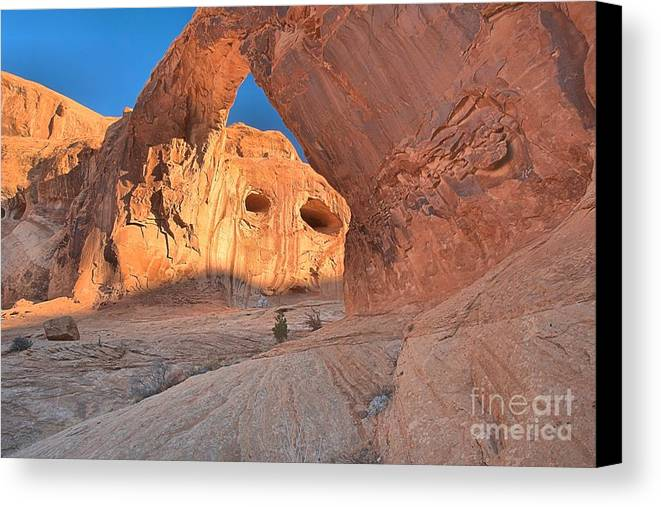 Corona Arch Canvas Print featuring the photograph The Eyes Of Corona by Adam Jewell