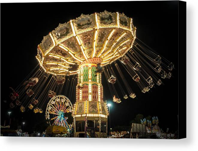 Fair Grounds Canvas Print featuring the photograph The Fair by Scott Mullin