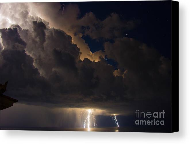 Nature Canvas Print featuring the photograph The Force Of Nature by Martyn Green