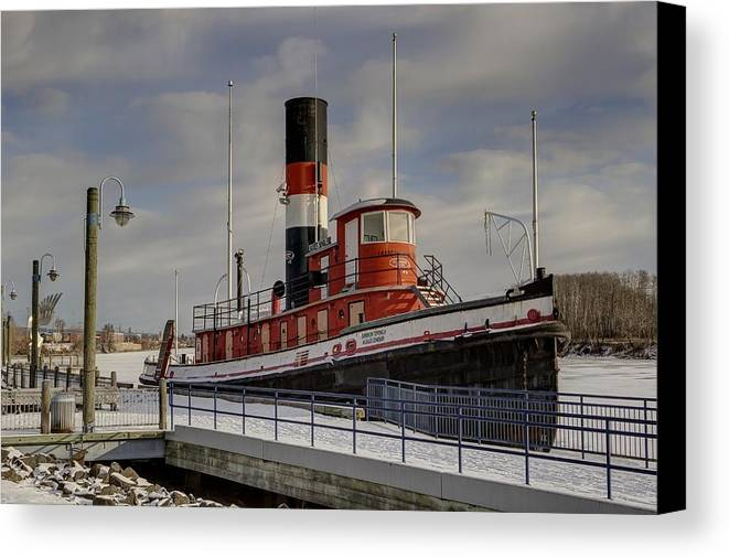 James Whalen Canvas Print featuring the photograph The James Whalen by Linda Ryma