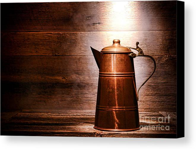 Pitcher Canvas Print featuring the photograph The Old Pitcher by Olivier Le Queinec