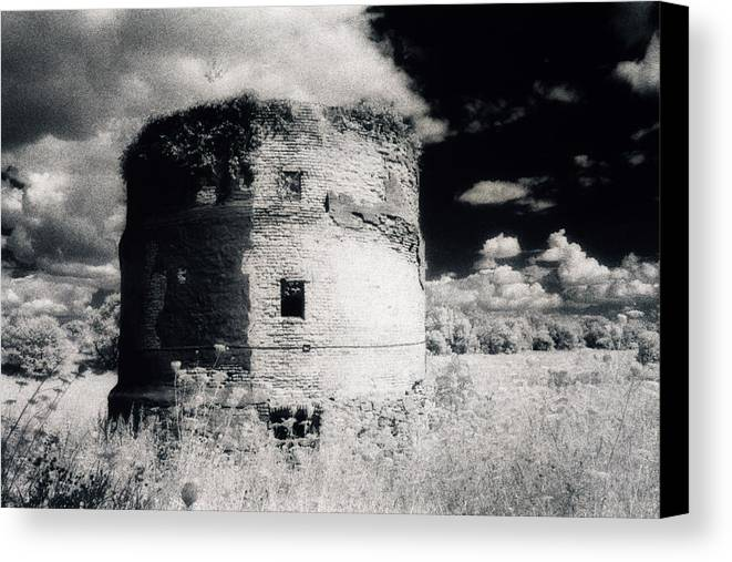 Photograph Canvas Print featuring the photograph The Tower by Laura Stretz