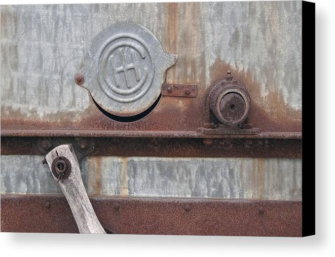 Old Canvas Print featuring the photograph Thresher 1 by David Kleinsasser