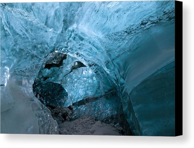 Iceland Canvas Print featuring the photograph Through The Rabbit Hole by Jim Southwell