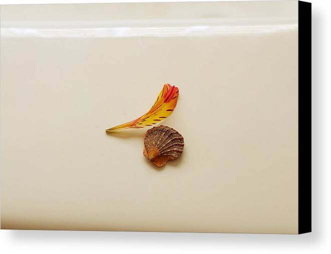 Petal Canvas Print featuring the photograph Together by Pamela Webb