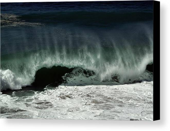 Hurricane Canvas Print featuring the photograph Tropical Storm Marie 1 by Michael Gordon