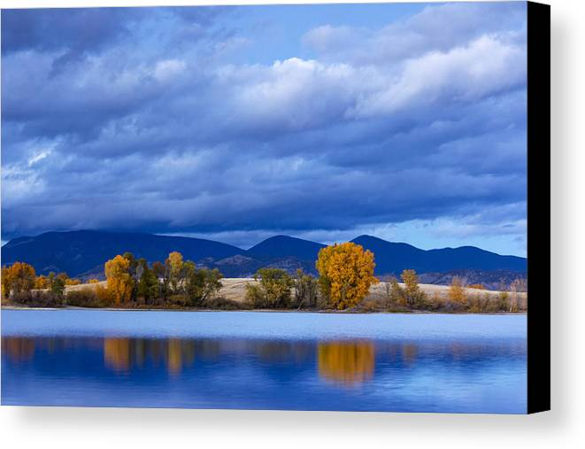Water Canvas Print featuring the photograph Twilight Beauty by Dana Moyer