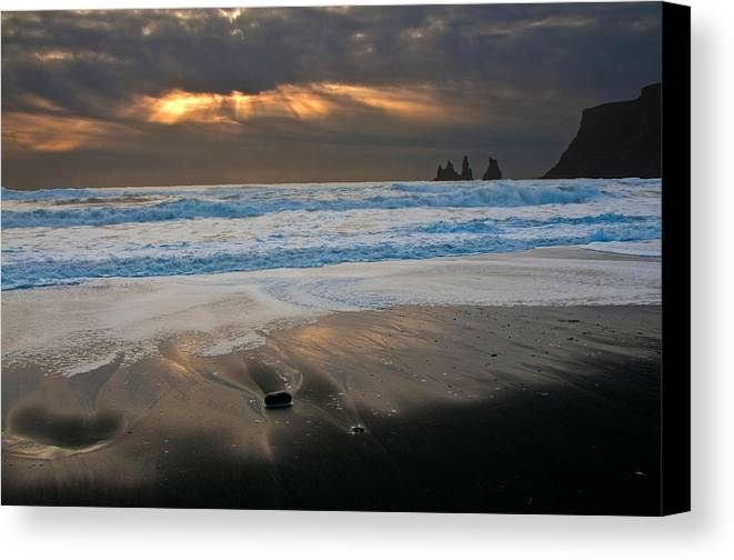 Iceland Canvas Print featuring the photograph Valkyries Of Odin by Jim Southwell