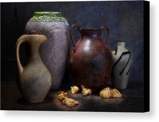 Vases And Urns Still Life Canvas Print Canvas Art By Tom Mc Nemar