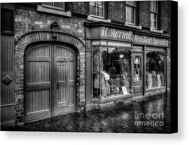Alley Canvas Print featuring the photograph Victorian Menswear by Adrian Evans