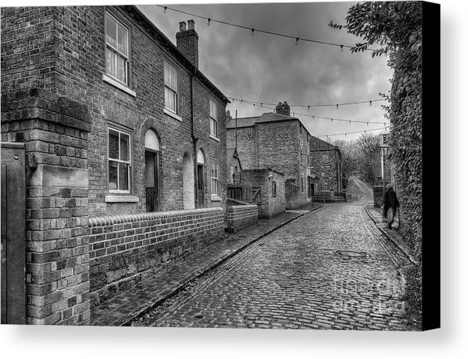 Alley Canvas Print featuring the photograph Victorian Street by Adrian Evans