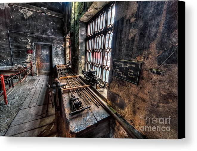 Architecture Canvas Print featuring the photograph Victorian Workshops by Adrian Evans