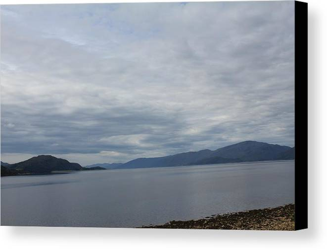 Water Canvas Print featuring the photograph View From Ballachulish by David Grant