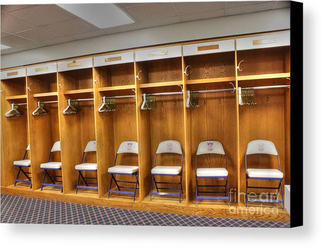 Visitors Clubhouse Canvas Print featuring the photograph Visitors by David Bearden