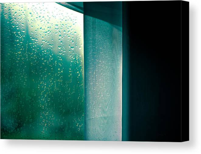 Abstract Canvas Print featuring the photograph Wednesday In September by Bob Orsillo