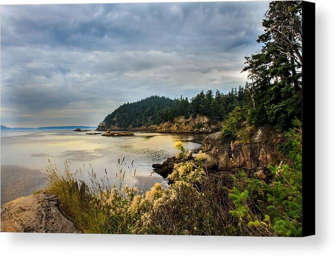 Larrabee State Park Canvas Print featuring the photograph Wildcat Cove by Robert Bales