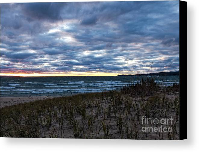 Michigan Canvas Print featuring the photograph Wilderness Park Michigan by Timothy Hacker