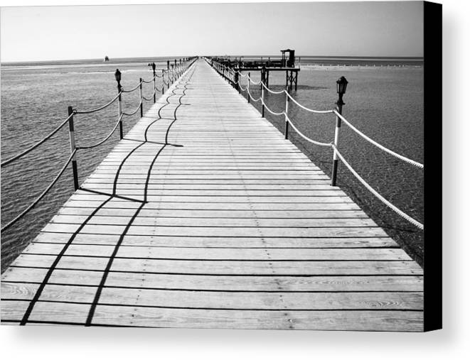 Jezcself Canvas Print featuring the photograph Will I Get There by Jez C Self
