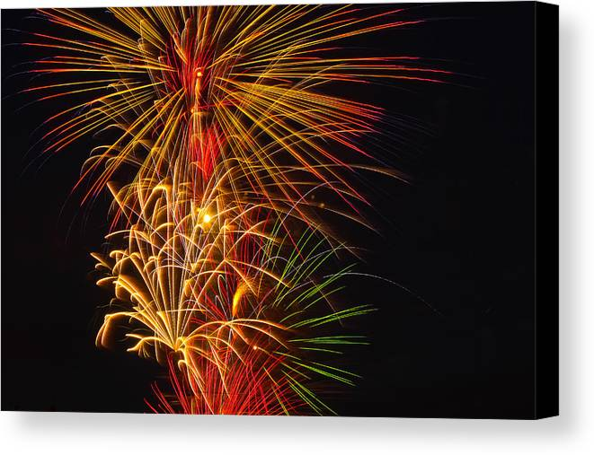 4th Of July Canvas Print featuring the photograph American Pride by Joshua Dwyer