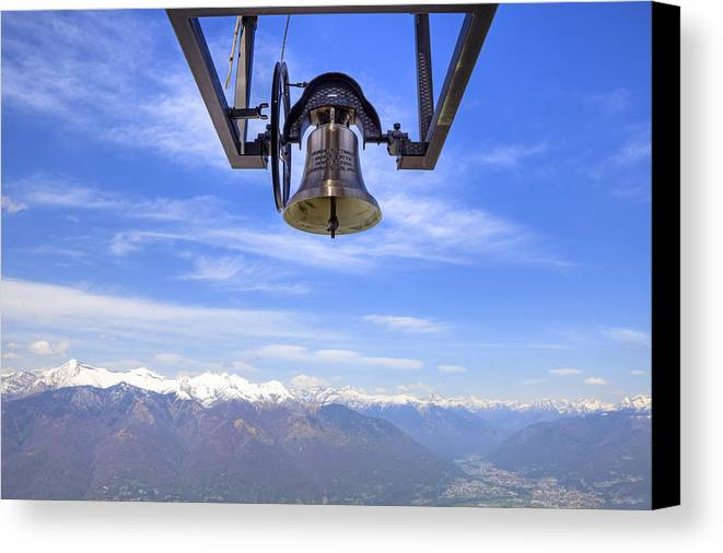 Bell Canvas Print featuring the photograph Bell In Heaven by Joana Kruse