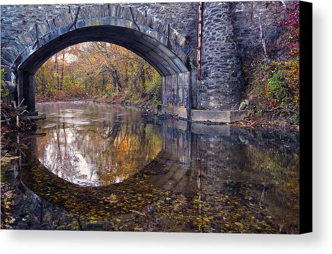 Bridge Canvas Print featuring the photograph Dream And Vision by Mitch Cat