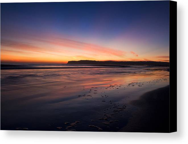 Sunset Canvas Print featuring the photograph Sunset by Benjamin Street