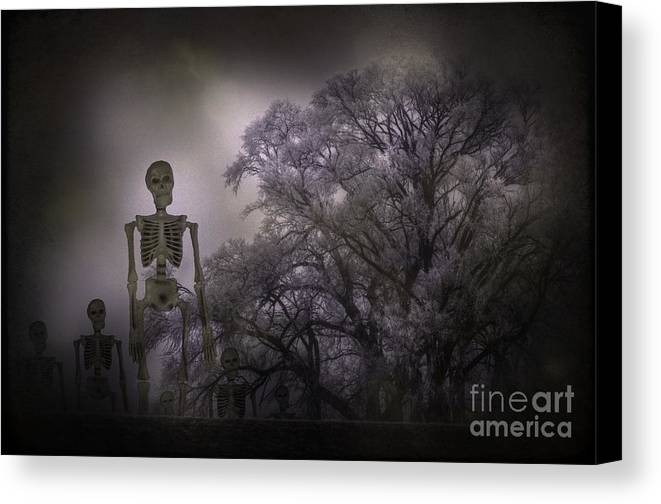 Fall Canvas Print featuring the photograph The March Of Fall by The Stone Age