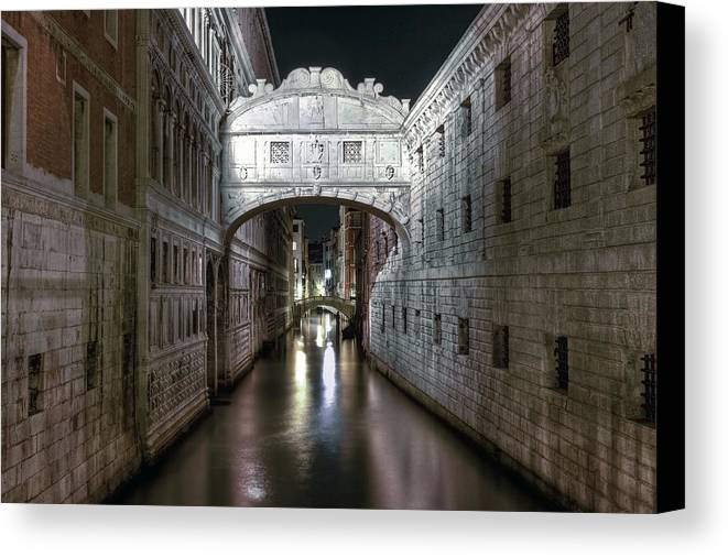 Venice Canvas Print featuring the photograph Venice by Joana Kruse