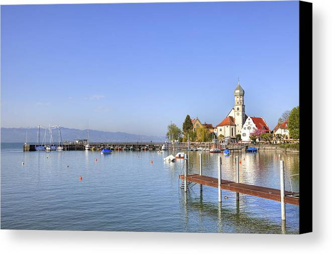 Wasserburg Canvas Print featuring the photograph Wasserburg by Joana Kruse