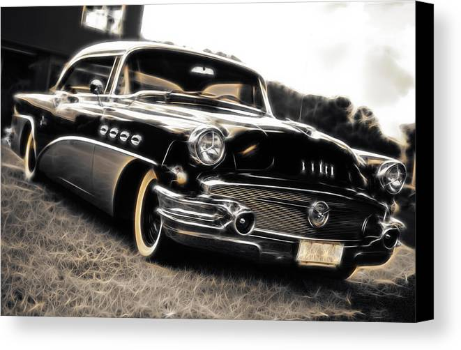 Buick Canvas Print featuring the photograph 1956 Buick Super Series 50 by Phil 'motography' Clark