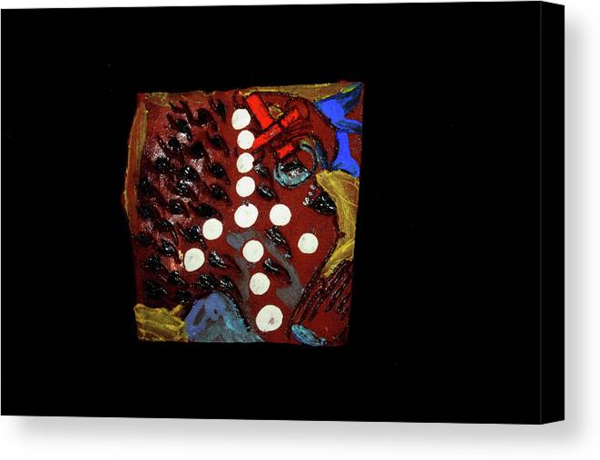 Godly Canvas Print featuring the ceramic art Sign by Gloria Ssali