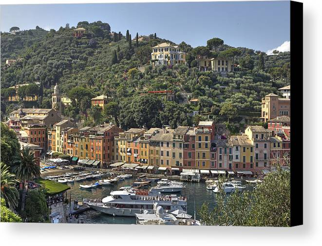 Portofino Canvas Print featuring the photograph Portofino by Joana Kruse