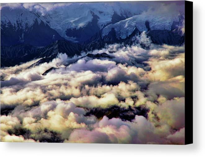 Denali National Park Canvas Print featuring the photograph Above The Clouds by Rick Berk