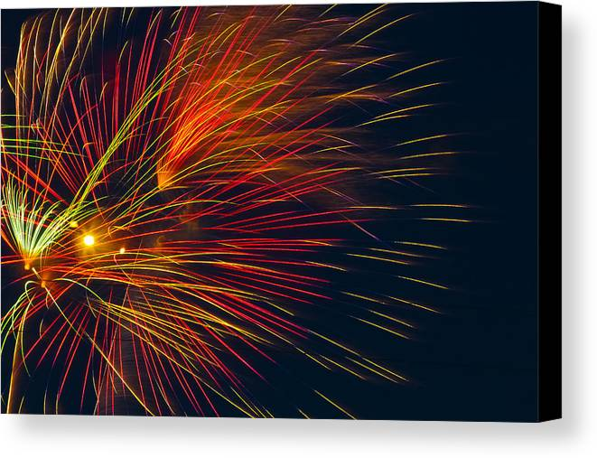 4th Of July Canvas Print featuring the photograph America The Beautiful by Joshua Dwyer