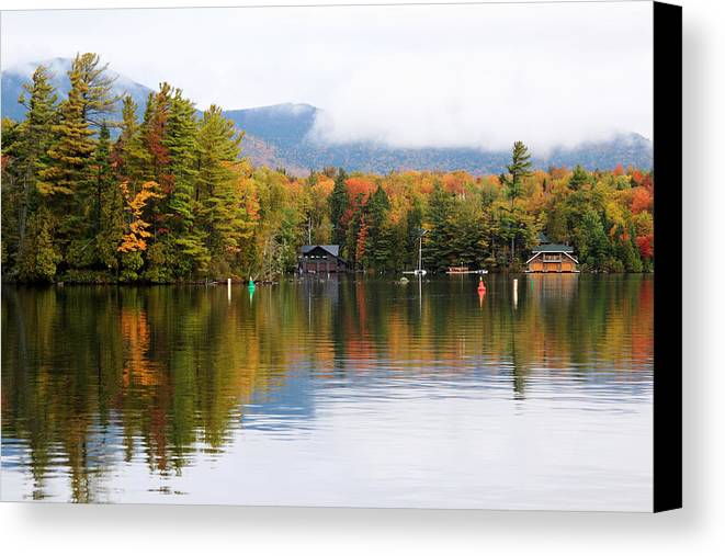 Autumn Canvas Print featuring the photograph Autumn Colors by Kean Poh Chua