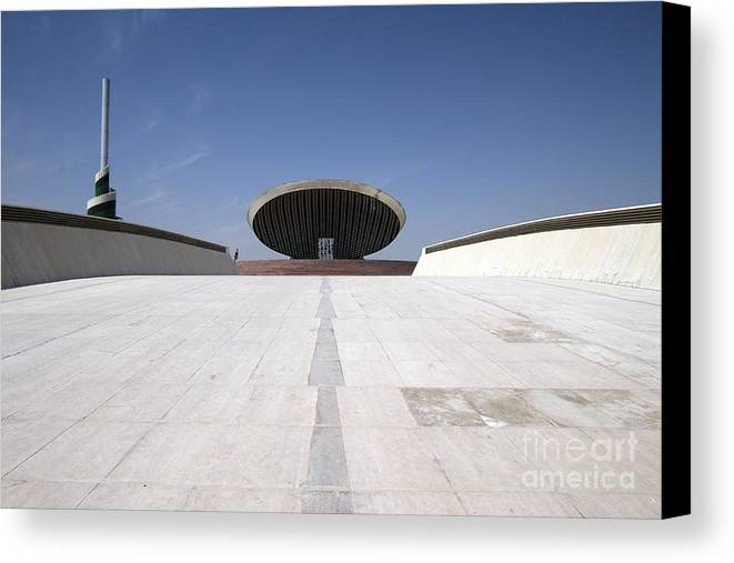 Baghdad Canvas Print featuring the photograph Baghdad, Iraq - The Ramp That Leads by Terry Moore