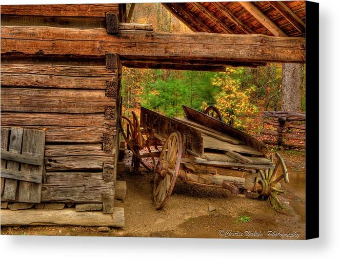 2010 Canvas Print featuring the photograph Better Days by Charles Warren