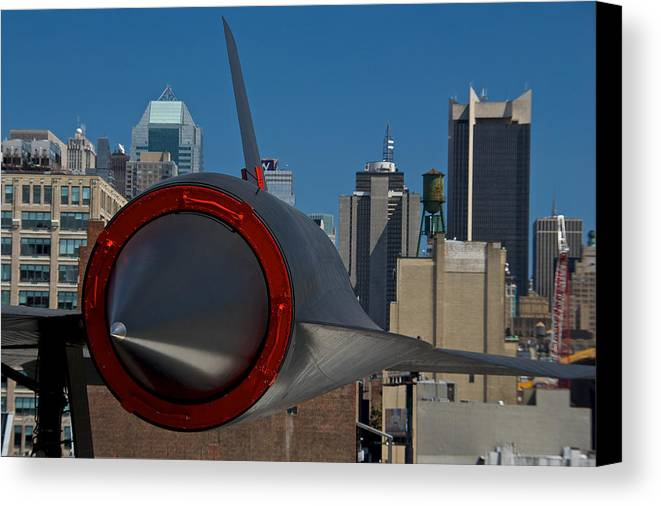 Boat Canvas Print featuring the photograph Blackbird by Mike Horvath