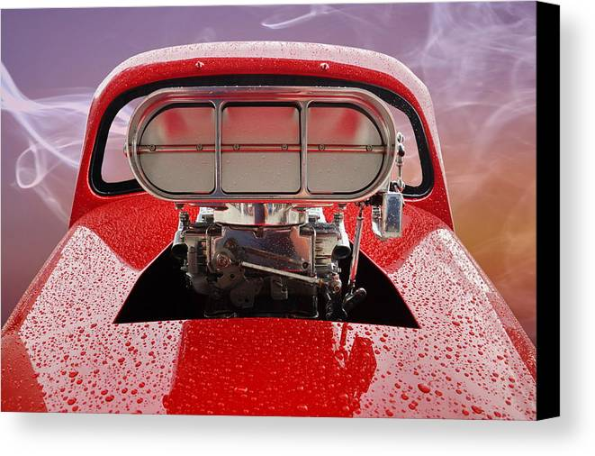 Blown Canvas Print featuring the photograph Blown by Alan Hutchins