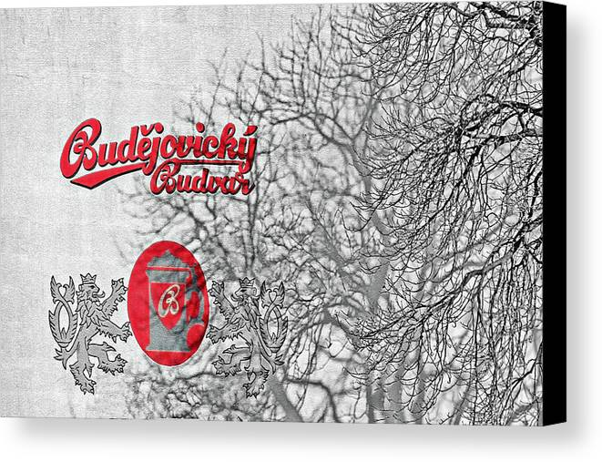 Alcoholic Canvas Print featuring the photograph Budweis Czech Republic - 700 Years Of Brewing Tradition by Christine Till