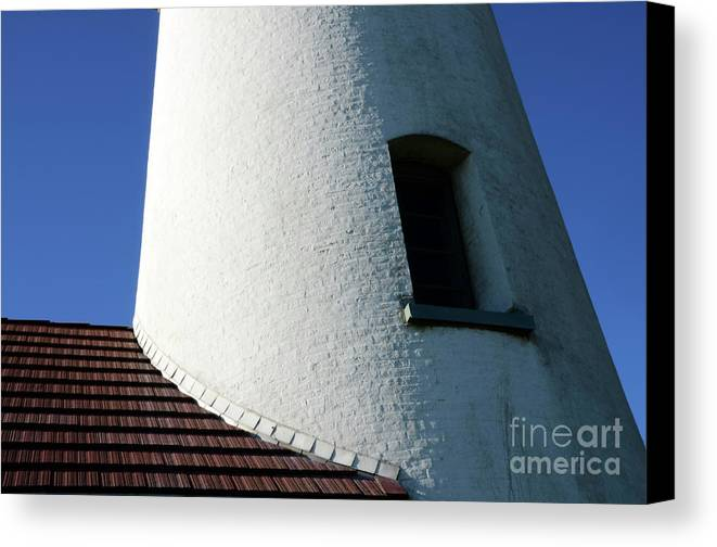 Pacific Ocean Canvas Print featuring the photograph Cape Blanco Detail by Bob Christopher