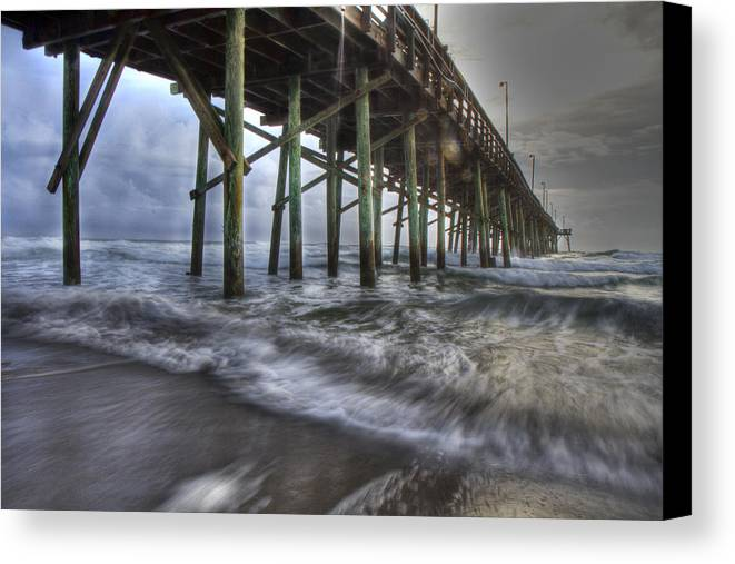 Topsail Canvas Print featuring the photograph Coastal Echos by Betsy Knapp