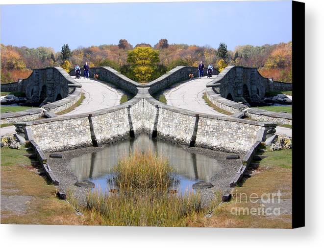 Canvas Print featuring the photograph Creation 351 by Mike Nellums