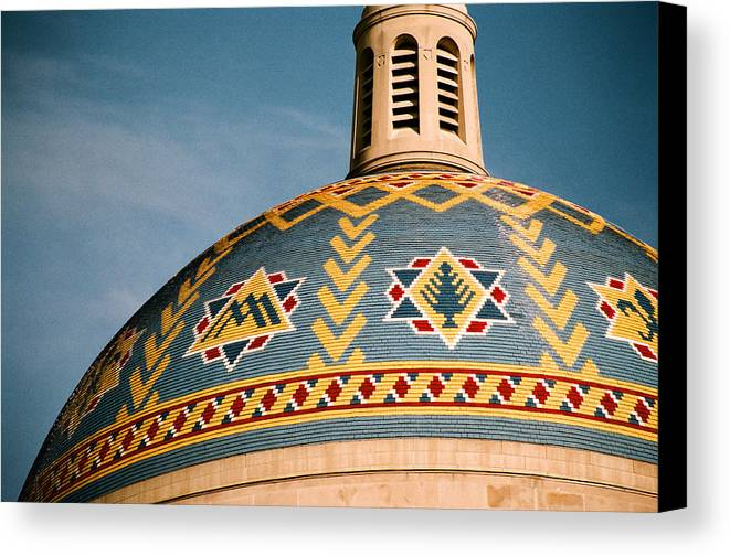 Dome Canvas Print featuring the photograph Dome by Claude Taylor