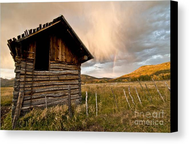 Durango Canvas Print featuring the photograph Evening Storm by Jeff Kolker